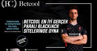 Betcool En İyi Gerçek Paralı Blackjack Sitelerinde Oyna