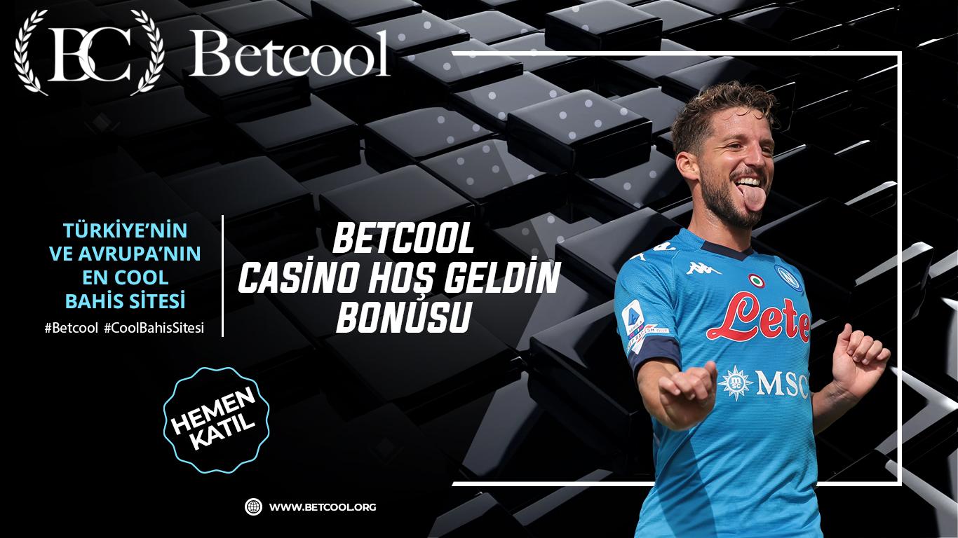 Betcool Casino hoş geldin bonusu