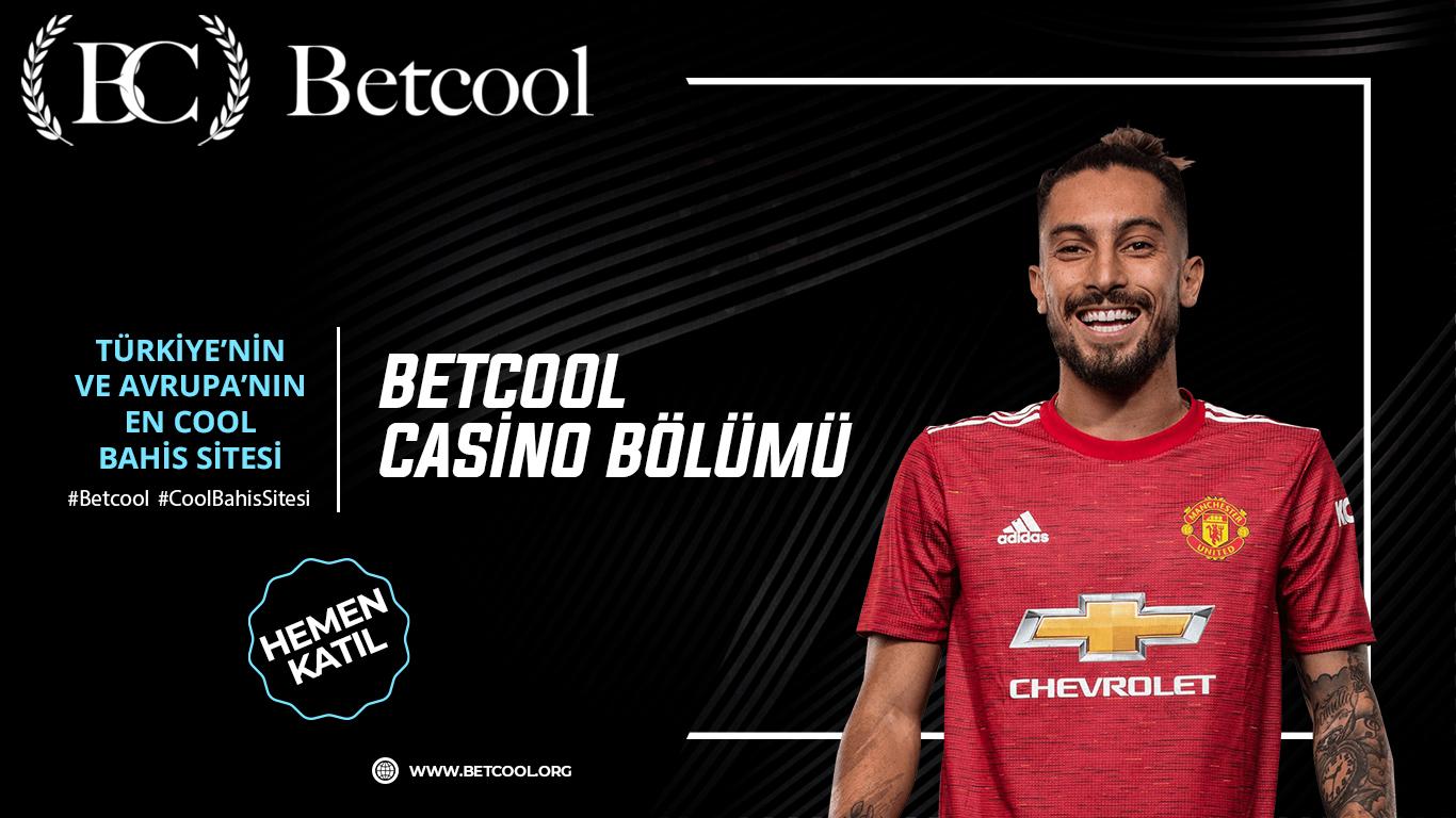 Betcool casino bölümü