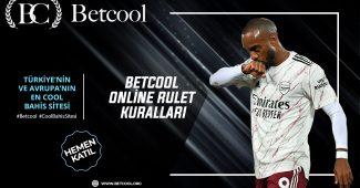 Betcool Online rulet kuralları